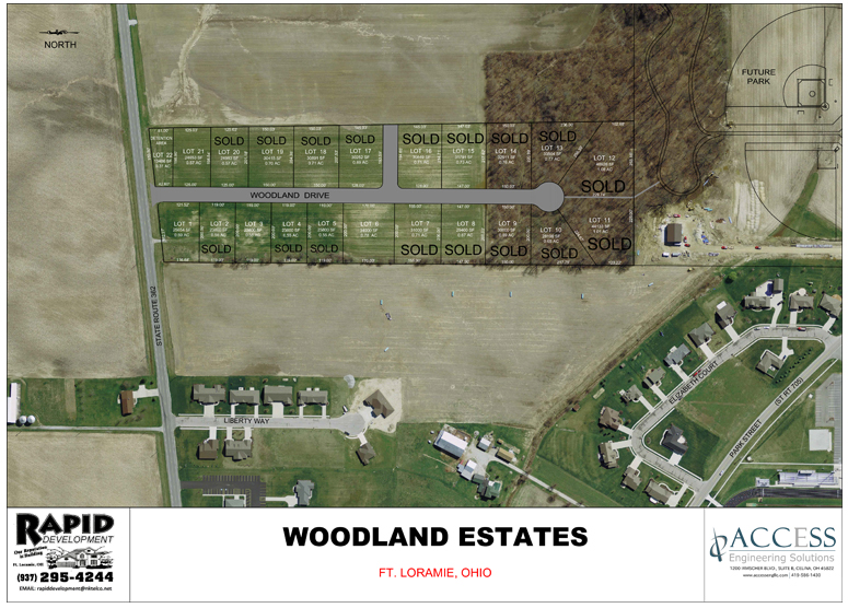 Woodland Estates Subdivision